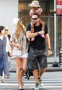 Heidi Klums Daughter Takes A Joy Ride On Martin Kristens