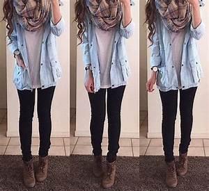 Image via We Heart It #boots #denim #fall #fashion #jeans ...