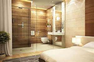 Chambre en pierre naturelle parquet design luxe for Salle de bain design avec hottes décoratives murales