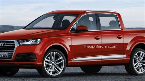 Audi Rules Out Pickup Truck For The Foreseeable Future; Rs