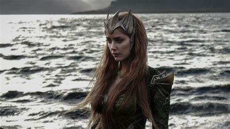 Check Out First Look Of Amber Heard As Mera In 'justice