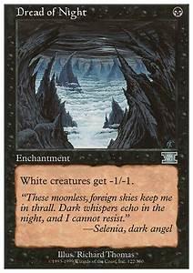 Dread of Night (6ED MTG Card)
