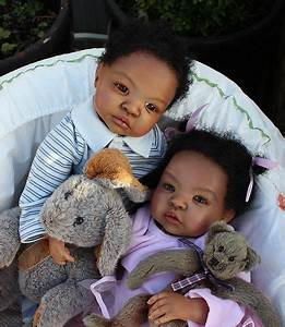 Twins Custom Order for Black AA Baby Reborn Ethnic ...