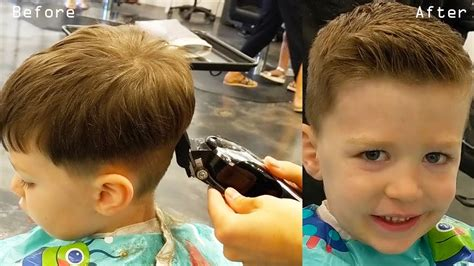 How To Cut Little Boys Hair With Clippers & Scissors