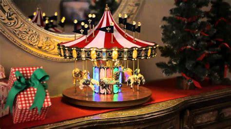 musical carousel christmas decorations wwwindiepediaorg