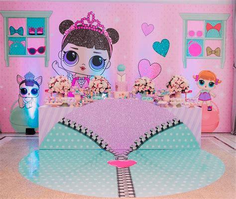 decoracao de festa infantil boneca lol surprise