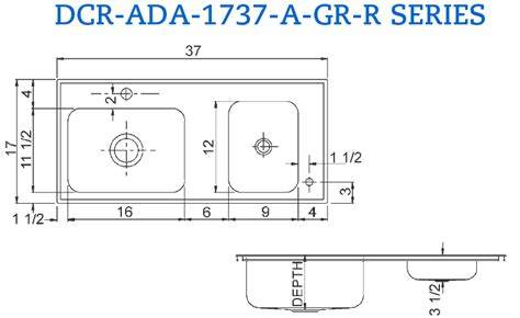 ada sink base requirements sinks interesting ada kitchen sink ada sink depth