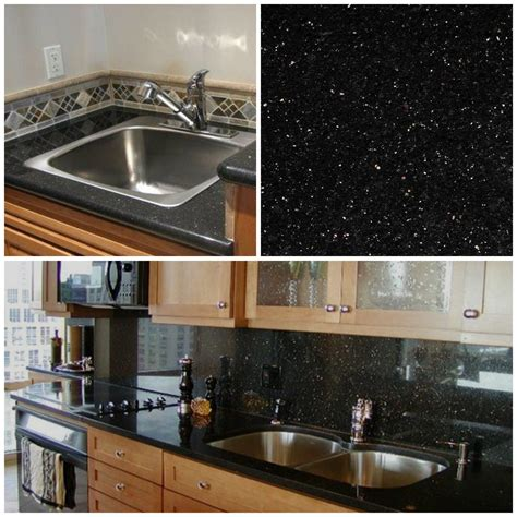 j n l kitchen cabinets granite counter galaxy noir poli pr 233 fabriqu 233 de couleurs plus faible des 18000