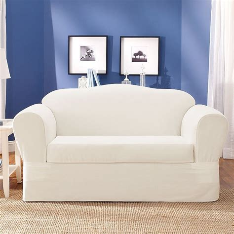 sure fit sofa covers sure fit loveseat slipcover home furniture design