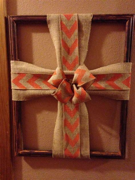 cross picture frame  jillycraft  etsy wreaths