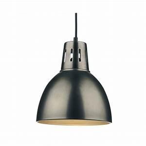 Osaka easy fit antique chrome ceiling pendant light