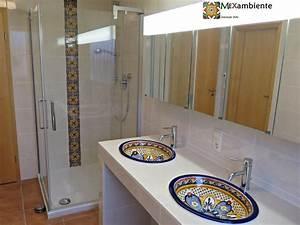 Fliesen Im Badezimmer : marokkanische fliesen f r s dliches flair im badezimmer ~ Sanjose-hotels-ca.com Haus und Dekorationen