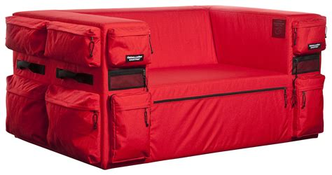Quinze Milan Eastpak Sofa by Canap 233 Droit Club Sofa 01 Eastpak L 142 Cm