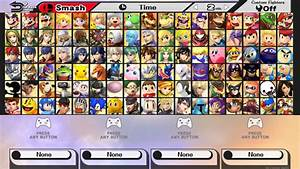 Ultimate Smash Bros For Wii U COMPLETE 77 By ConnorRentz