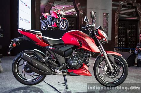 Tvs Apache Rtr 200 4v 4k Wallpapers by Tvs Apache Rtr 200 4v Side Launched
