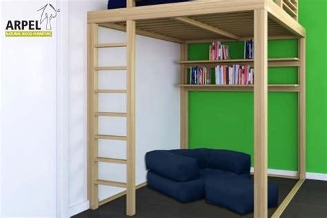 scala per letto a soppalco letto a soppalco con scala contenitore con 10 letti a