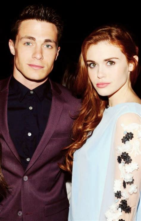 holland roden y colton haynes colton haynes and holland roden teen wolf pinterest