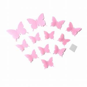 Butterflies wall stickers art decals christmas party home