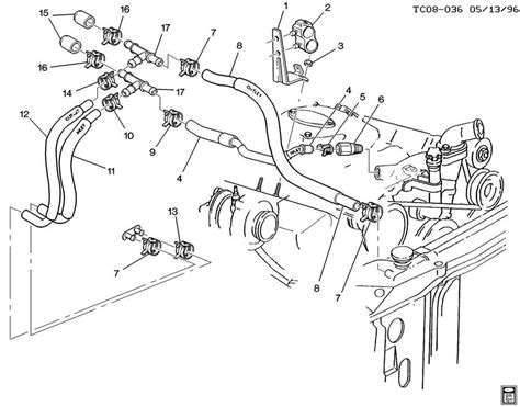 2000 Chevy Suburban Heater Diagram by Chevy Heater Hose Diagram 2001 Chevy Tahoe Heater Hose Diagram