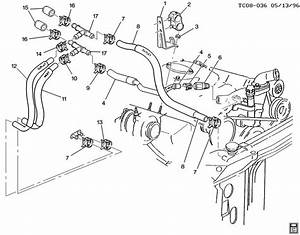 2003 Chevy S10 Heater Hose Diagram