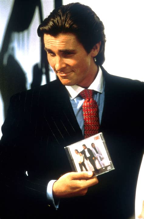 Patrick Bateman Charcoal Pinstripe Double Breasted Suit