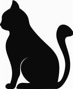 Aliexpress com : Buy Silhouette of a Sitting Cat Vinyl