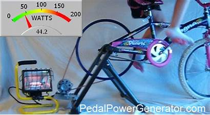 Power Generator Bicycle Pedal Disaster Build Own