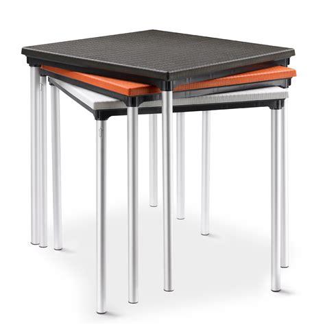 tavolo in plastica da giardino tavolo giardino in plastica alluminio sovrapponibile