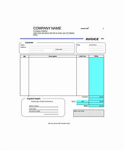 tradesman invoice template uk hardhostinfo With self employed invoice template
