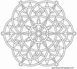 Mandala Coloring Lotus Pages Flower Printable Mandalas Geometric Steampunk Flowers Geometrycoloringpages Geometry Celtic Adult Foil Azcoloring Beanies Hats Colouring Sheets sketch template