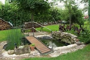 Jardin d39eau ou mare hors sol ou dans la continuite de for Decoration pour jardin exterieur 8 decoration escalier bois