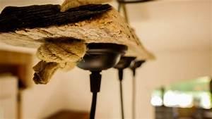 Treibholz Lampe Decke : lampe aus treibholz und alten gin flaschen monkey 47 made by myself dein diy heimwerker blog ~ Frokenaadalensverden.com Haus und Dekorationen