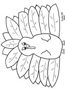 free turkey coloring page thanksgiving activity