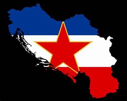 Breakup Yugoslavia Jugoslawien Flagge Sfrj Maps Google