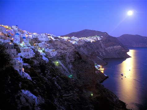 Greece In Pictures Santorini Island Greece 2011 Pictures