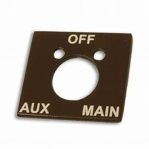 Buy Manual Fuel Selector Tank Indicator Plate