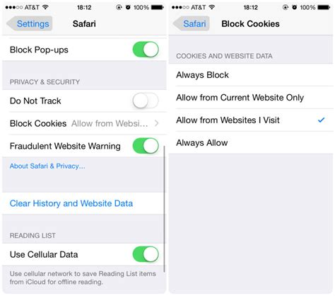 how to enable cookies on iphone privacy 101 settings and tips for every iphone and user