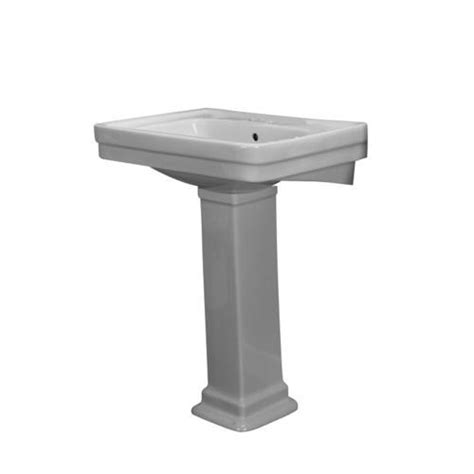 barclay sussex 550 pedestal sink 8 quot widespread at menards 174