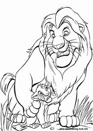 Best Lion King Coloring Pages Ideas And Images On Bing Find What