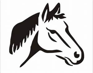 "Horse Stencil /Horse Head01 5x4 25"" Lodge Western Cabin"