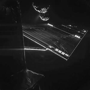 Rosetta Probe Snaps Selfie With Comet Before Historic ...