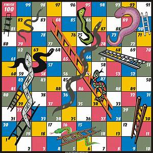 free snakes and ladders game board free printable game With snakes and ladders template pdf