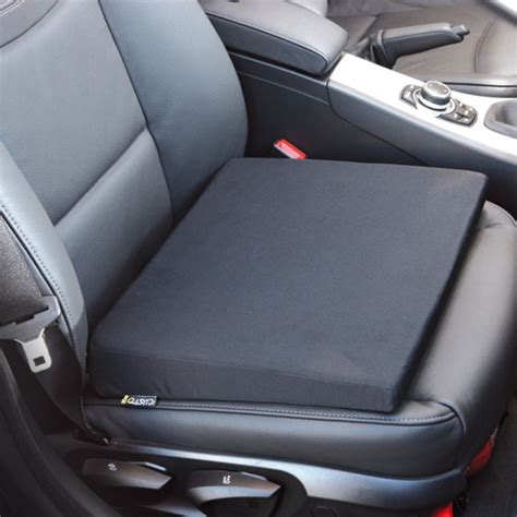 coussin pour siege de voiture coussin ergonomique pour siège de voiture noir forme