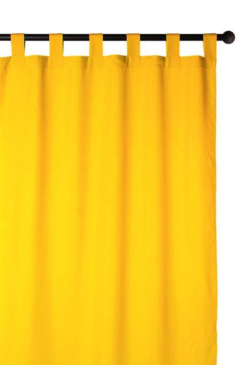 rideau jaune