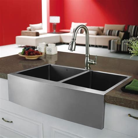 33 inch kitchen sink vigo industries vgr3320bl 33 inch bowl stainless 3875