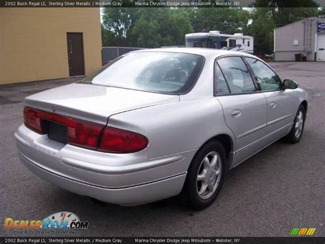 2002 Buick Regal Ls Sterling Silver Metallic / Medium Gray