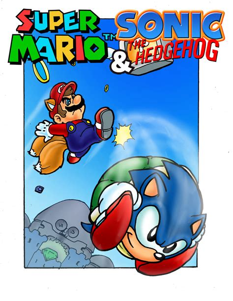 Mario And Sonic By Carlchrappa On Deviantart