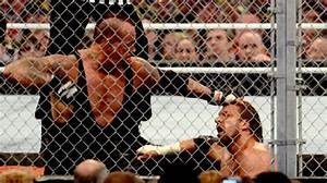 Image - Undertaker vs triple h hell in a cell at ...