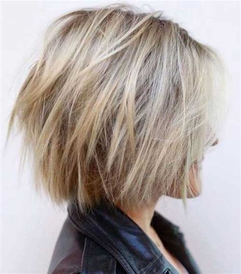 layered bob hairstyles for chic ladies