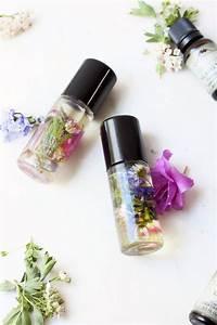 DIY Perfume Roll On With Wildflowers Inside Styleoholic